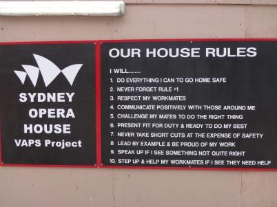 Husreglene fra Sydney Opera House - noe for hverdagen?